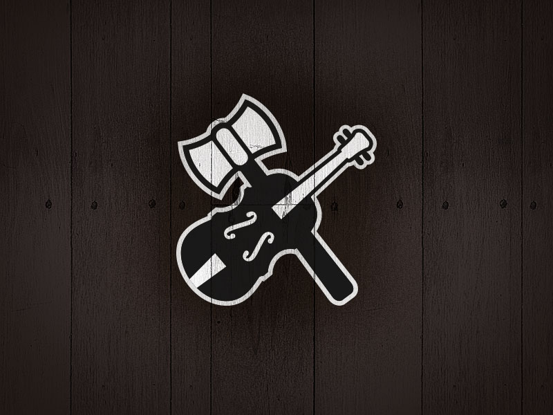 Updated Axe and Fiddle logo
