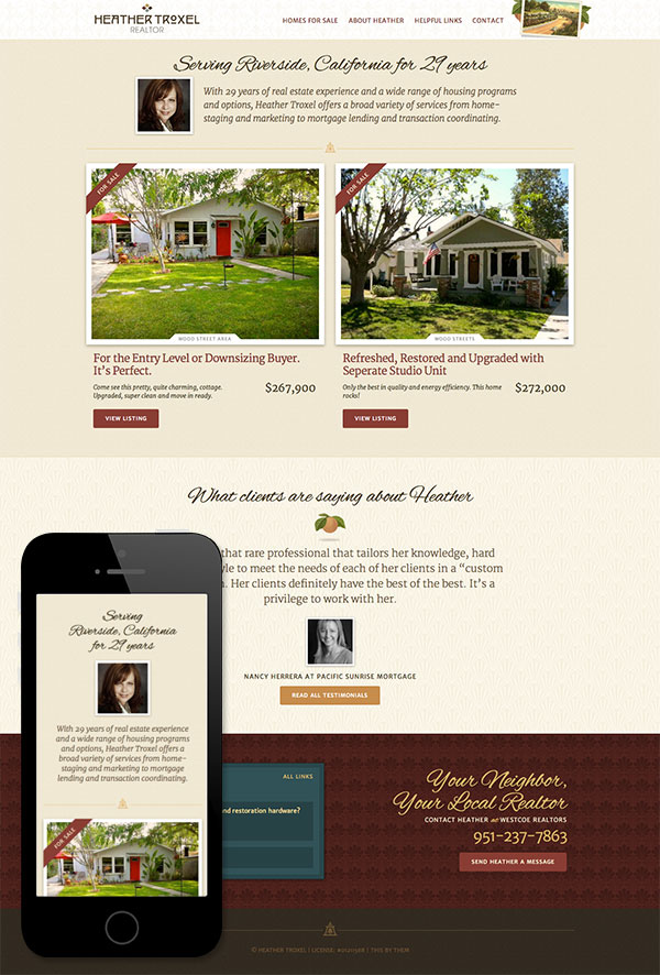 The brand new heathertroxel.com!