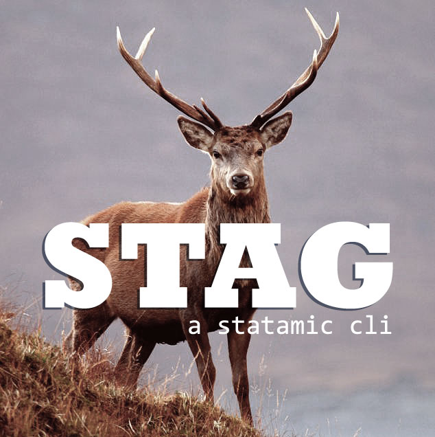 Stag: A Statamic CLI