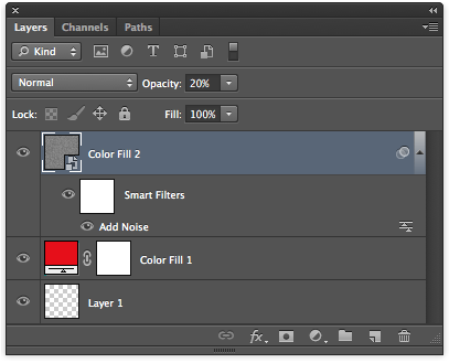 Your Photoshop layers